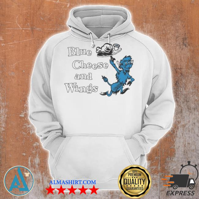 Buffalo vol 6 24 blue cheese and wings s Unisex Hoodie