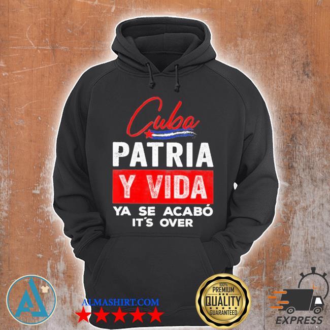 Cuba patria y vida ya se acabo s Unisex Hoodie
