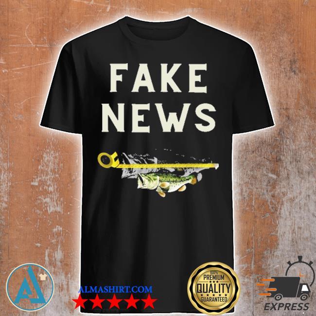 Face news Fish shirt