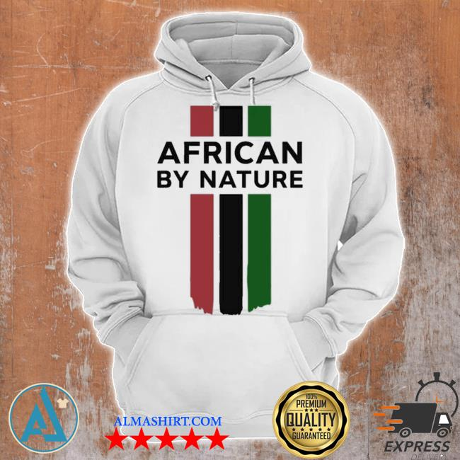 Naija made merch african by nature youth s Unisex Hoodie