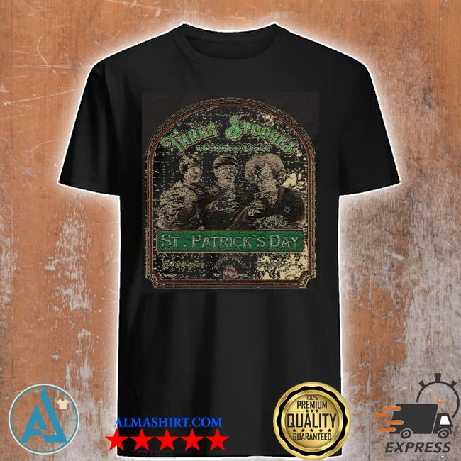 Three stooges St Patrick's day shirt