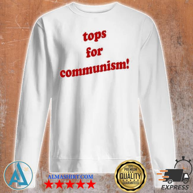 Tops for communism whosken s Unisex sweatshirt