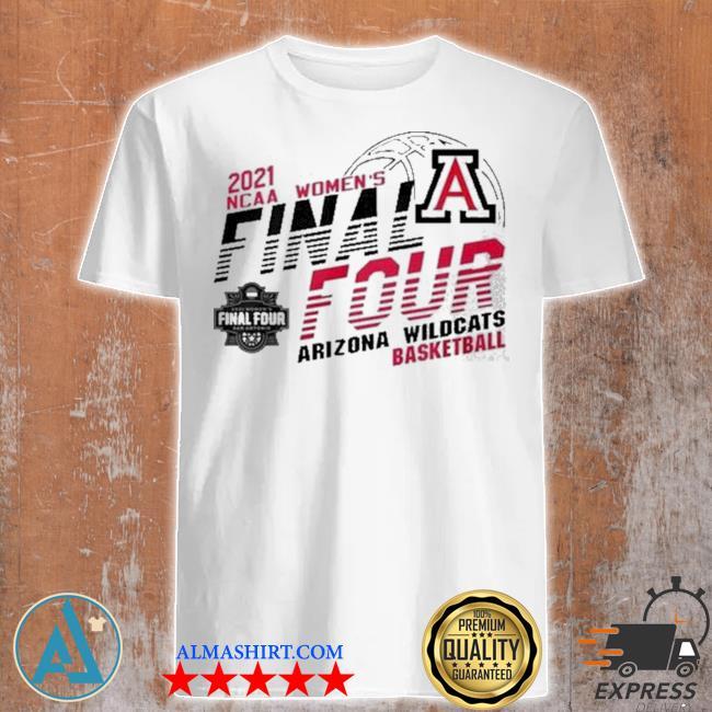 2021 ncaa women's final four Arizona wildcats basketball shirt