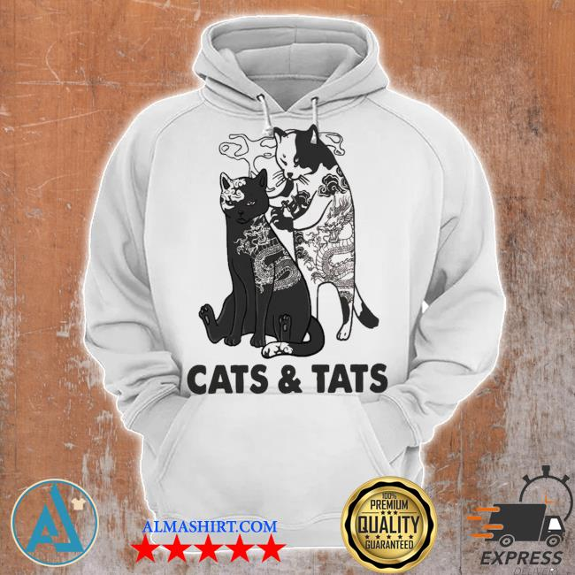 Cats and tats tattoo new 2021 s Unisex Hoodie