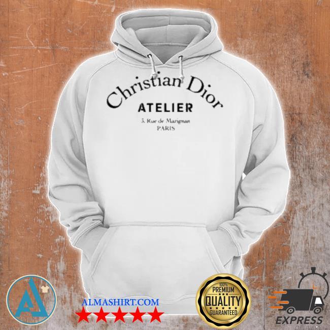 Christian dior atelier diors christian dior atelier 3 rue de marignan paris s Unisex Hoodie