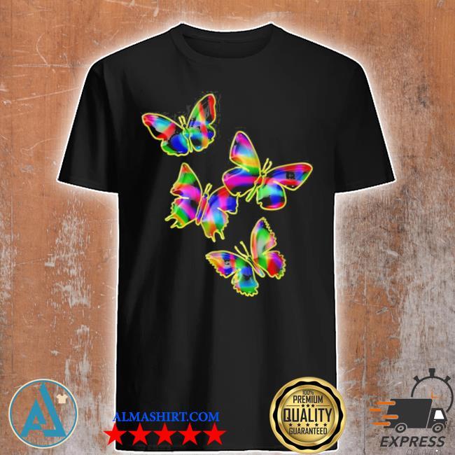 Colorful butterflies 2021 new 2021 shirt