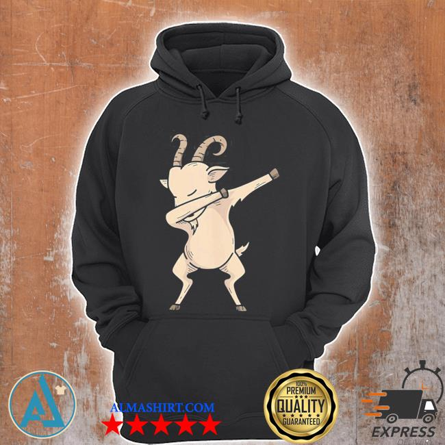 Cool dabbing goat hip hop dancing animal pun new 2021 s Unisex Hoodie