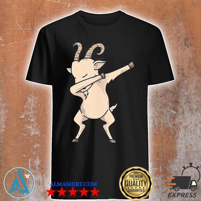 Cool dabbing goat hip hop dancing animal pun new 2021 shirt