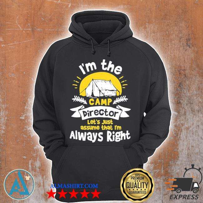 Direkte I'm the camp director camping new 2021 s Unisex Hoodie
