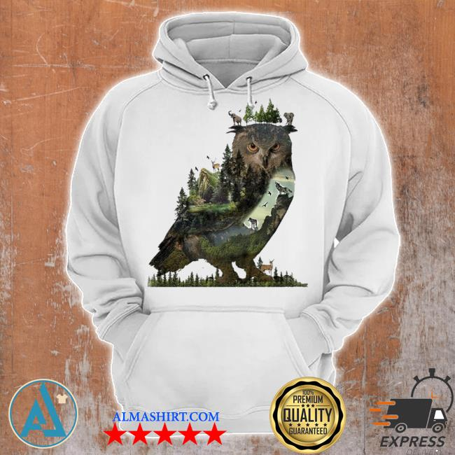 Forest owl 2021 new 2021 s Unisex Hoodie