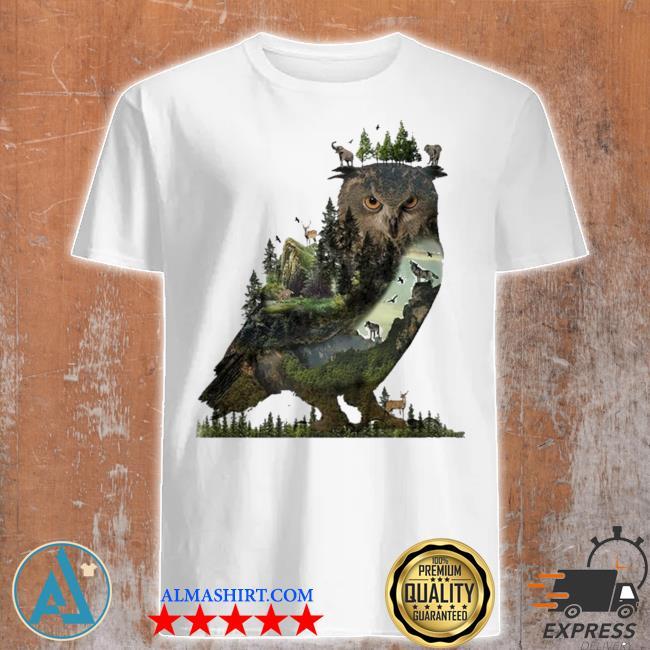 Forest owl 2021 new 2021 shirt