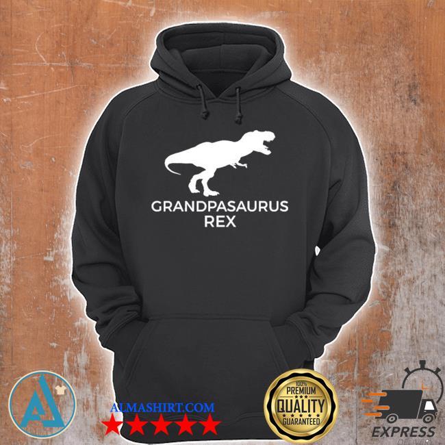 Grandpasaurus rex funny grandpa dinosaur gift s Unisex Hoodie