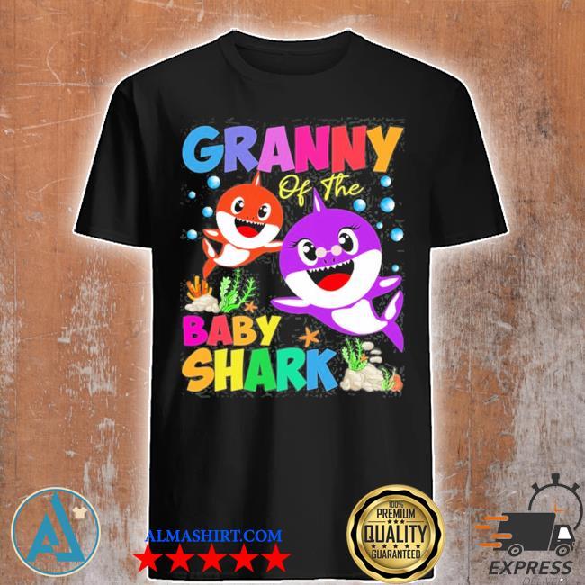 Granny of the baby shark granny shark shirt