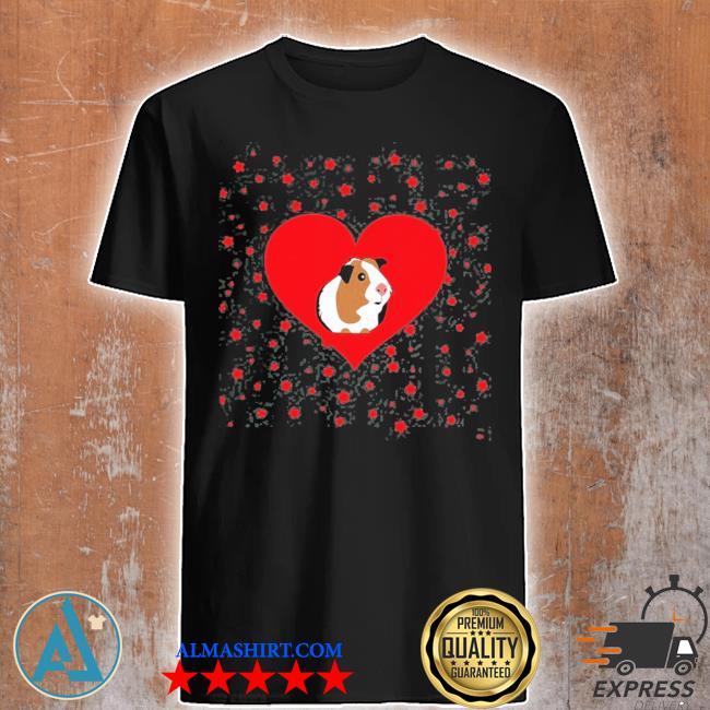 Guinea pig valentine's day funny Guinea pig shirt