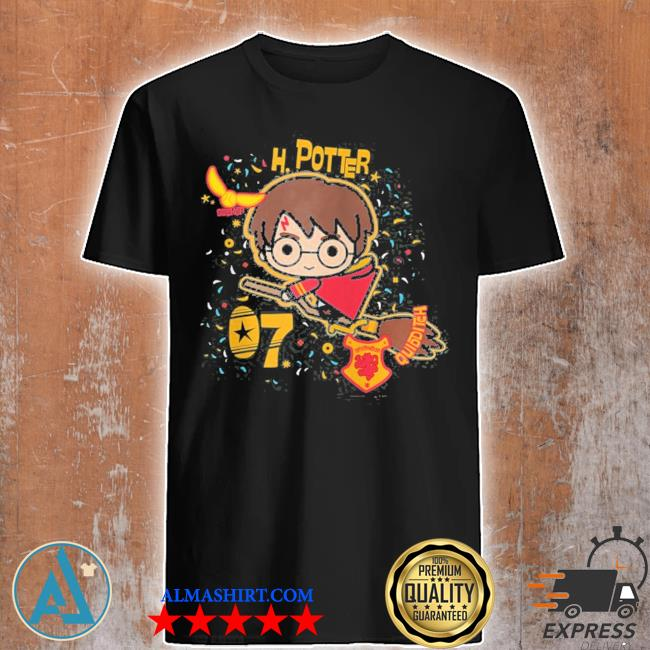 Harry Potter h. Potter 07 quidditch chibI zip shirt