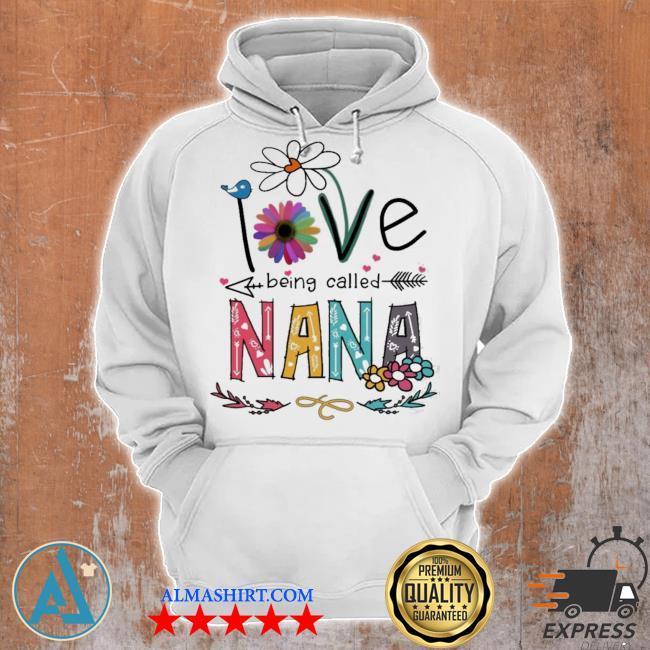 I love being called nana daisy flower s Unisex Hoodie