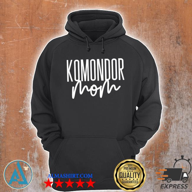 Komondor mom cute dog mama new 2021 s Unisex Hoodie
