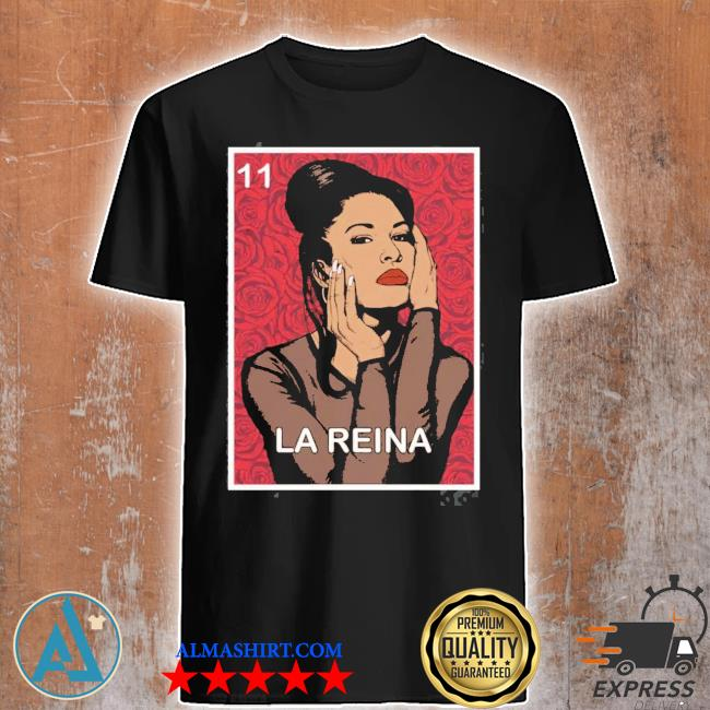 LA reina vintage selenas quintanilla new 2021 shirt