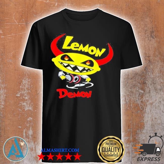 Lemon demon dj new 2021 shirt
