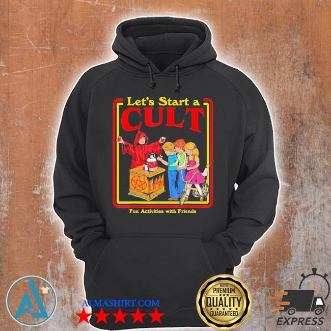 Let's start a cult satanic vintage horror edgy men women s Unisex Hoodie