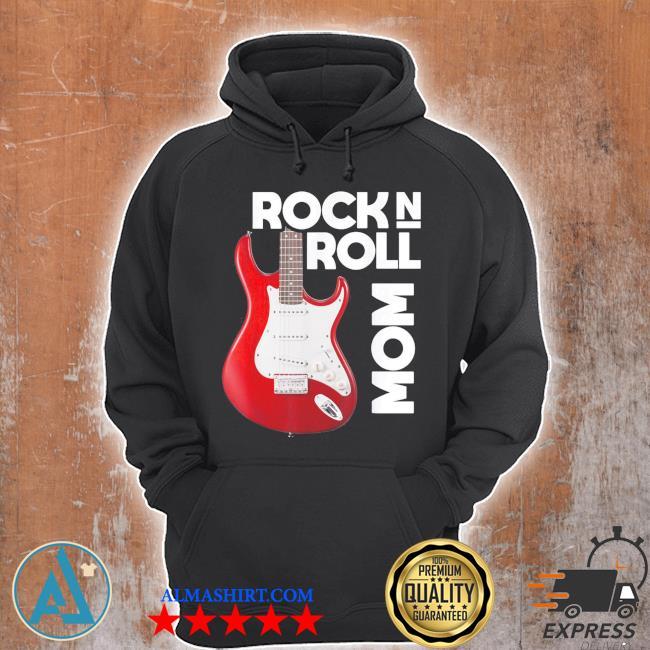 Mom love rock n roll funny new 2021 s Unisex Hoodie