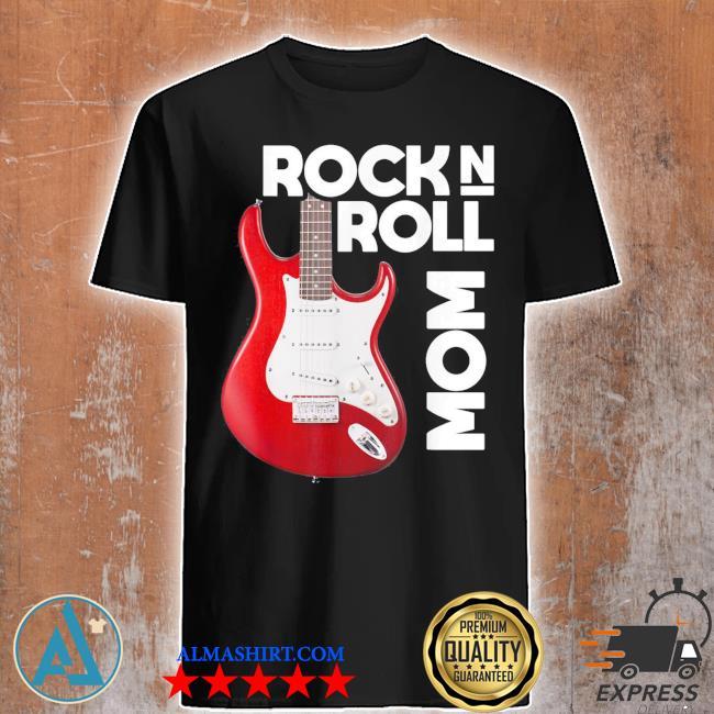 Mom love rock n roll funny new 2021 shirt