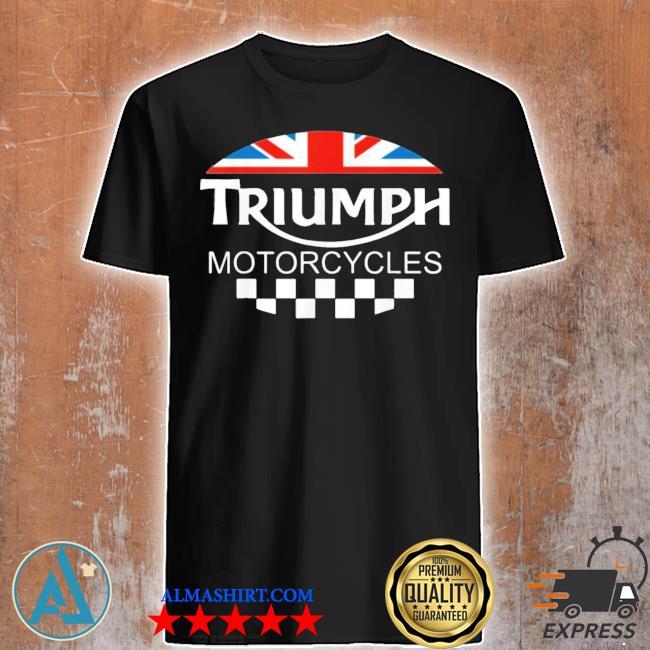 Motorcycle triumph biker uk united Kingdom shirt