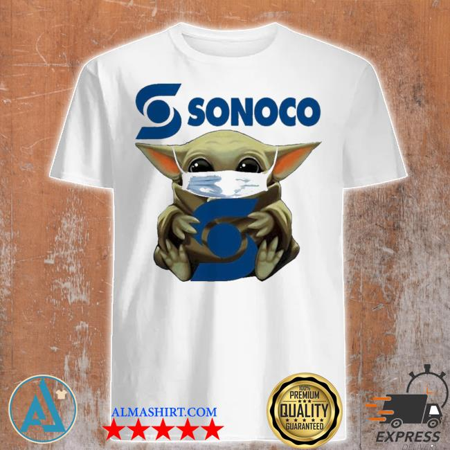 Pretty Star wars baby Yoda hug sonoco covid 19 shirt