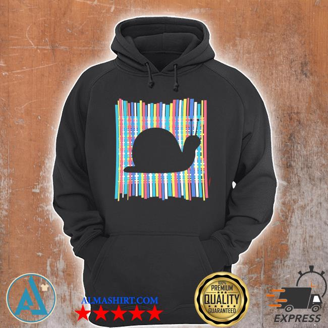 Snail pastel rainbow striped vintage retro aesthetic new 2021 s Unisex Hoodie