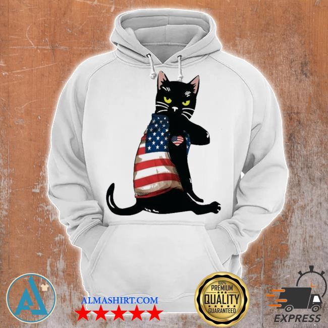Strong cat patriotic s Unisex Hoodie