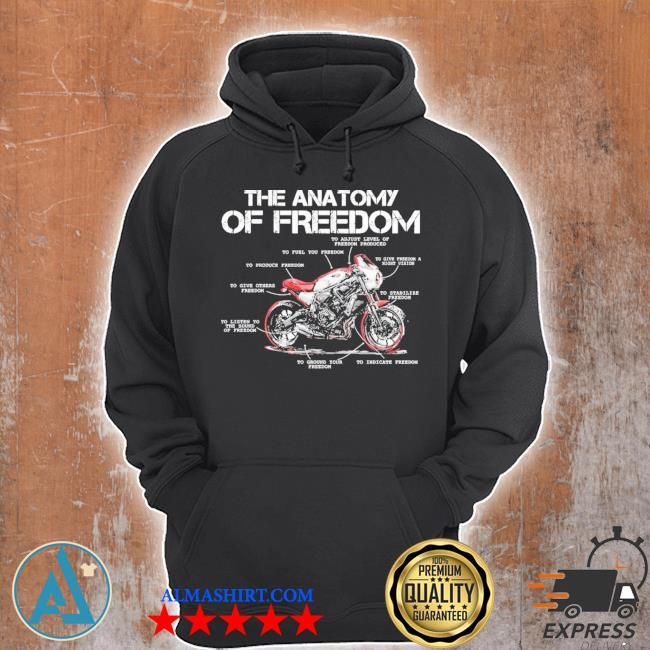 The anatomy of freedom new 2021 s Unisex Hoodie