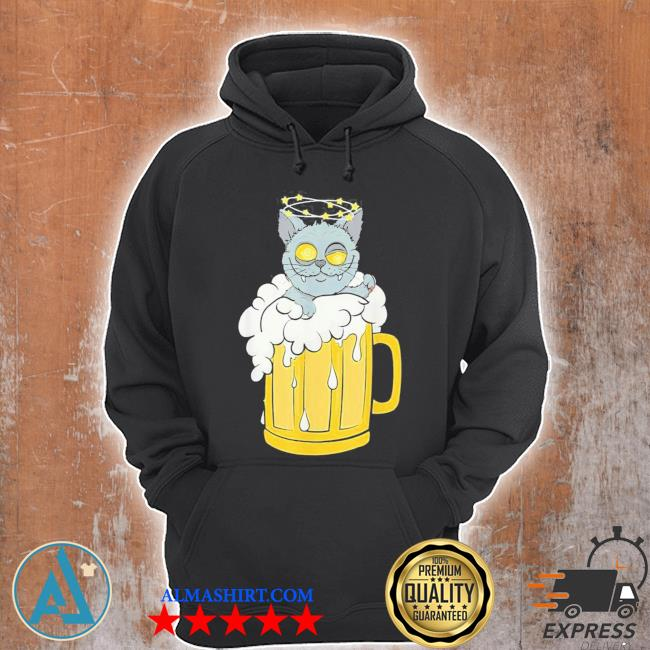 Tu cat beer drinking party costume dog new 2021 s Unisex Hoodie