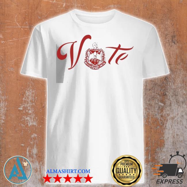 Vote delta sigma theta new 2021 shirt