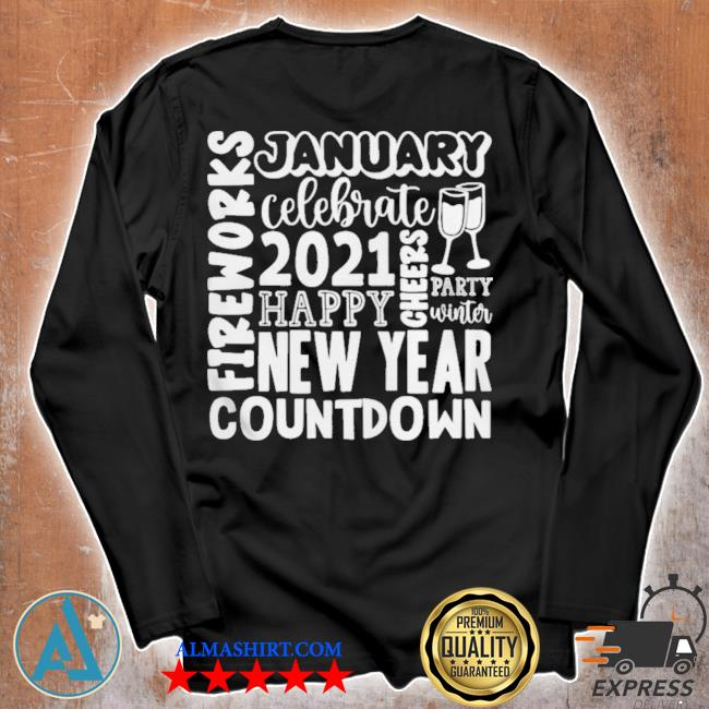2021 happy new year cheers celebrate celebrate new year 2021 gifts s Unisex longsleeve