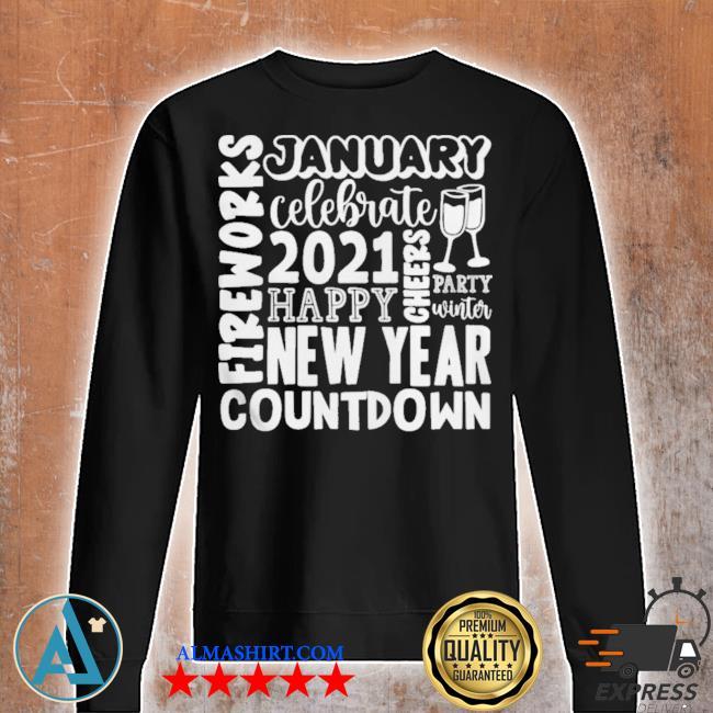 2021 happy new year cheers celebrate celebrate new year 2021 gifts s Unisex sweatshirt