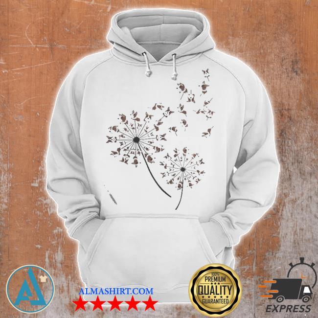 Awesome corgI dandelion flower s Unisex Hoodie