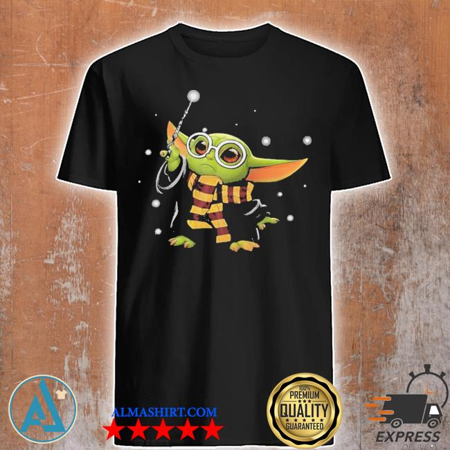Baby Yoda Harry Potter shirt