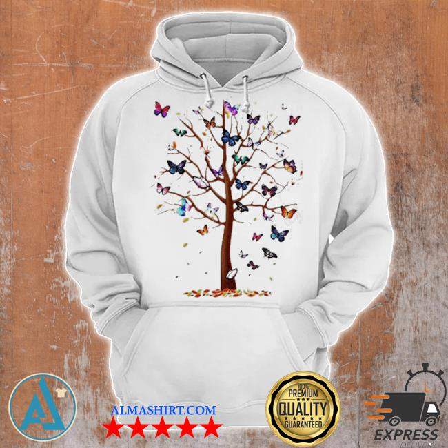 Butterfly tree beautiful s Unisex Hoodie