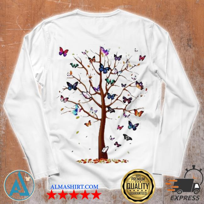 Butterfly tree beautiful s Unisex longsleeve