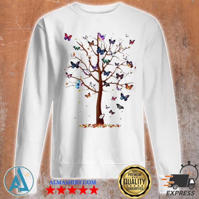 Butterfly tree beautiful s Unisex sweatshirt