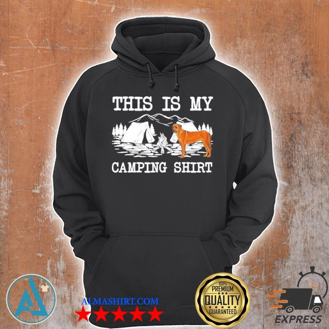Campfire rhodesian ridgeback dog this is my camping new 2021 s Unisex Hoodie