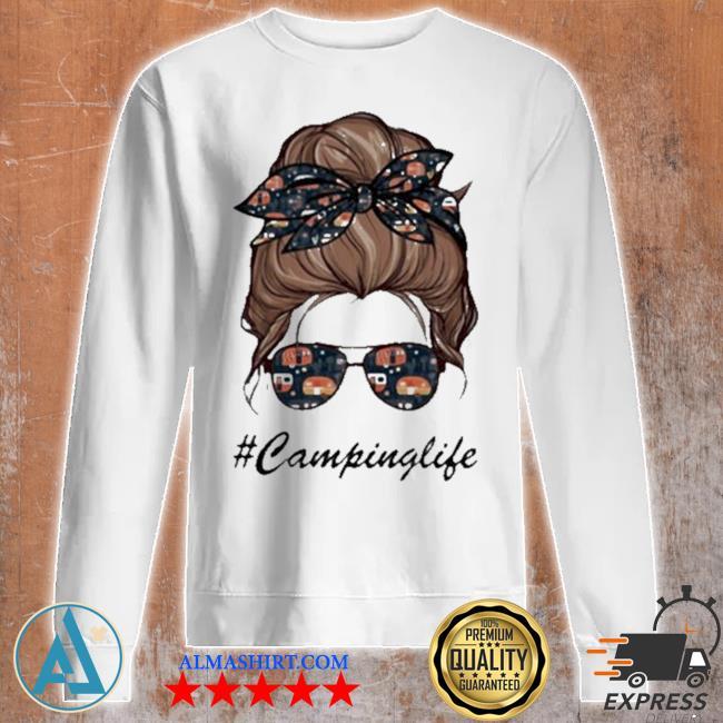 Camping life girl s Unisex sweatshirt