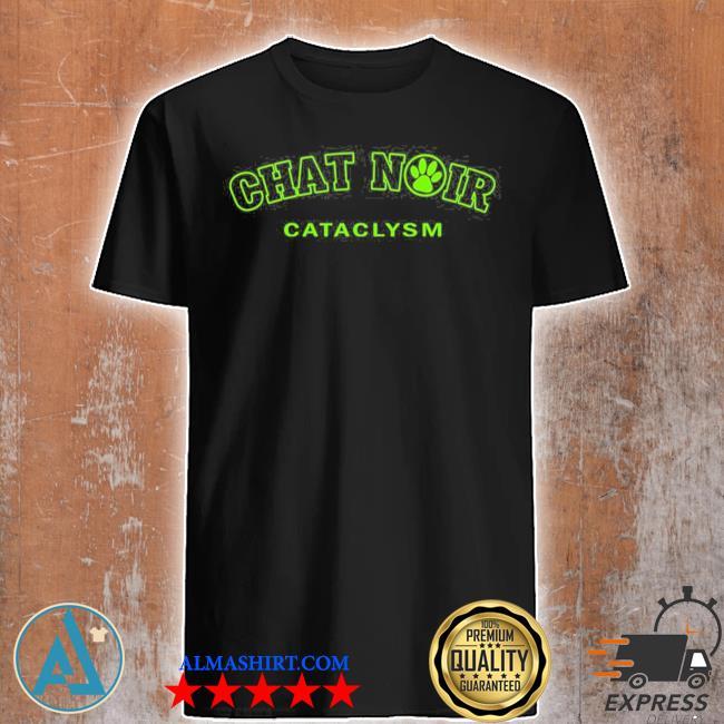 Chat noir cat green version miraculous marI chat adrienette marinette ladybug cataclysm chat noir cat noir shirt