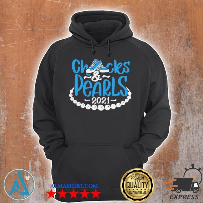 Chucks and pearls 2021 s Unisex Hoodie
