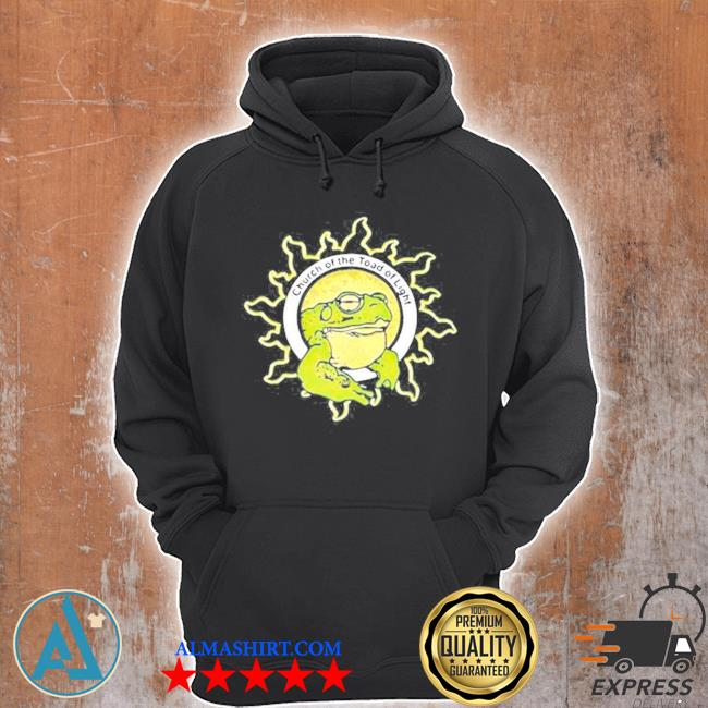 Church of the toad of light s Unisex Hoodie