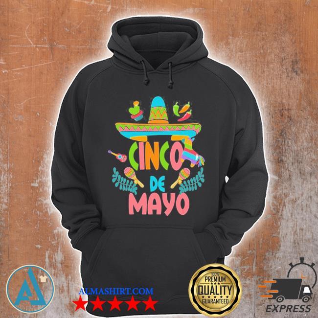 Cinco de mayo fiesta design camisa 5 de mayo viva Mexico new 2021 s Unisex Hoodie