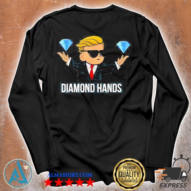 Diamond hands wallstreetbets tendies essential new 2021 s Unisex longsleeve