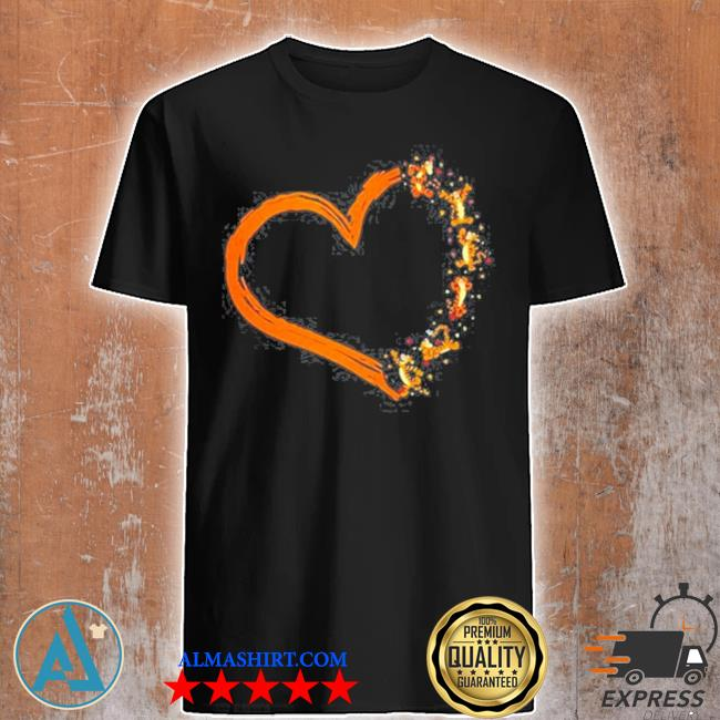 Disney tigger heart shirt
