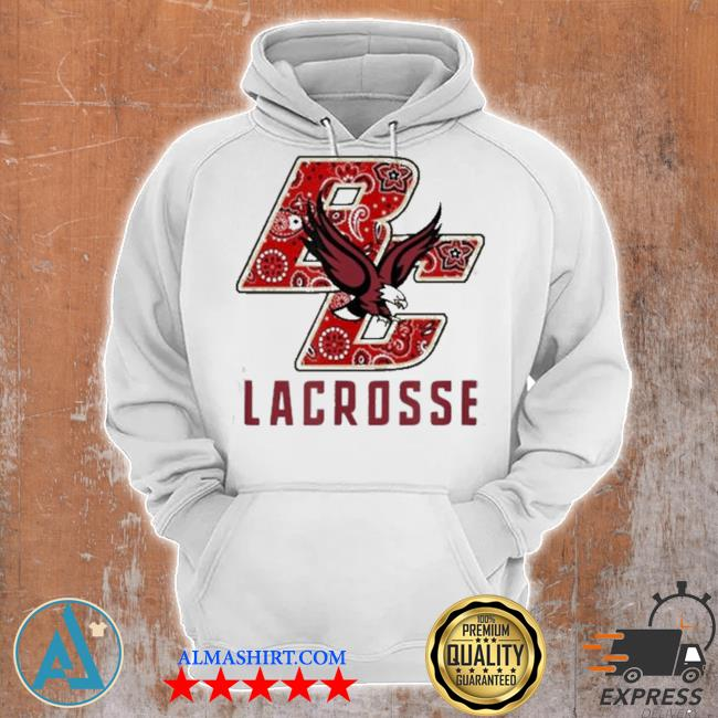 Eagles bc lacrosse bandana s Unisex Hoodie