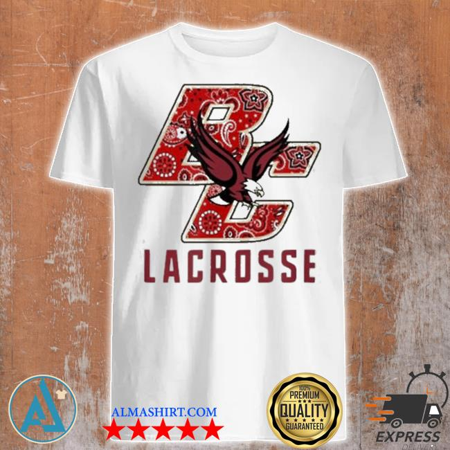 Eagles bc lacrosse bandana shirt